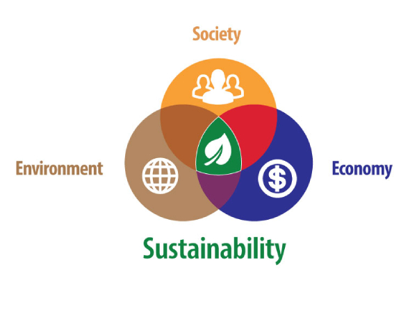 Three Facets of Sustainability